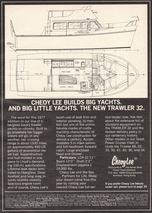 1977 cheoy lee 32 trawler